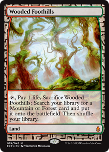 Wooded Foothills (foil) (full art)