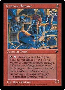 Dwarven Armorer