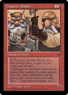 Dwarven Soldier (3)