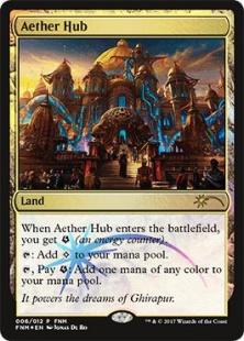Aether Hub (foil)