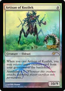 Artisan of Kozilek (foil)