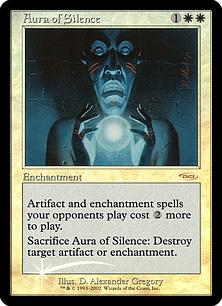 Aura of Silence (foil)