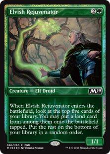 Elvish Rejuvenator (foil)