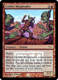 Goblin Ringleader (foil)