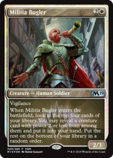Militia Bugler (foil)