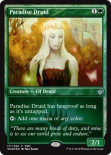 Paradise Druid (foil)