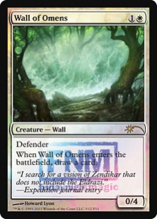 Wall of Omens (foil)