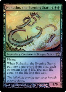 Kokusho, the Evening Star (foil)