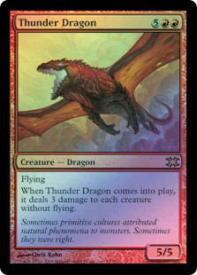 Thunder Dragon (foil)