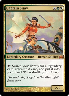 Captain Sisay (foil)