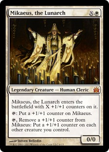 Mikaeus, the Lunarch (foil)