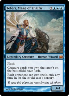 Teferi, Mage of Zhalfir (foil)