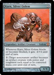 Karn, Silver Golem (foil)