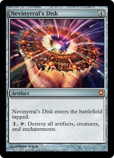 Nevinyrral's Disk (foil)