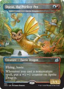 Sprite Dragon (borderless)