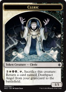 Cleric token (1/1)