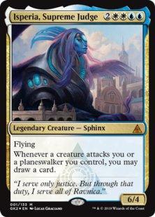 Isperia, Supreme Judge (foil)
