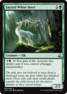 Sacred White Deer