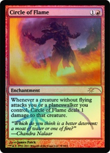 Circle of Flame (foil)
