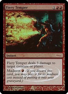 Fiery Temper (foil)