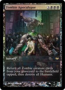 Zombie Apocalypse (foil) (full art)