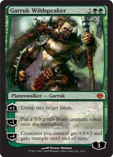 Garruk Wildspeaker (foil)