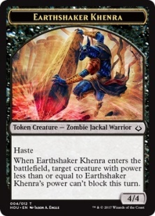 Earthshaker Khenra eternalize token (4/4)
