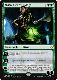Nissa, Genesis Mage (foil)