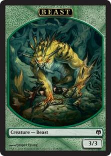 Beast token (3/3)
