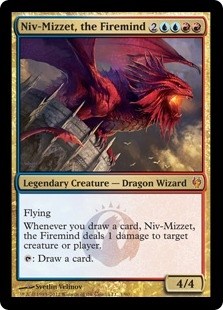 Niv-Mizzet, the Firemind (foil)