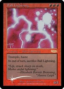 Ball Lightning (foil)