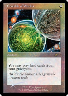 Crucible of Worlds (foil)