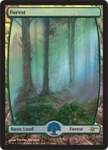 Forest (foil) (full art)