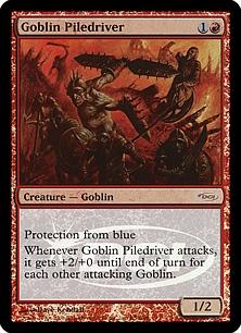 Goblin Piledriver (foil)