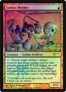 Magic The Gathering ~ 1x Goblin Welder ~ Urza/'s Legacy ~ M//NM