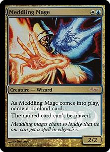 Meddling Mage (foil)