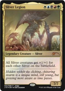 Sliver Legion (foil)