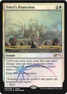 Teferi's Protection (foil)