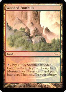 Wooded Foothills (foil)
