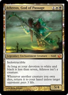 Athreos, God of Passage (foil)