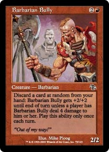 Barbarian Bully (foil)