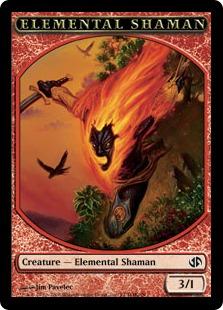 Elemental Shaman token (3/1)