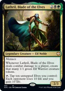 Lathril, Blade of the Elves (foil)