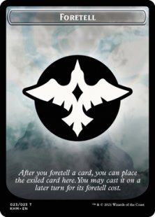 Foretell card