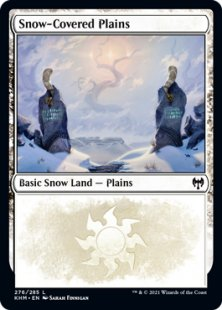 Full ArtNM//MModern HorizonsMagic MTG 2x Snow-Covered Plains