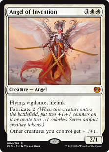 Angel of Invention (foil)