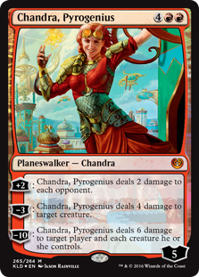 Chandra, Pyrogenius (foil)