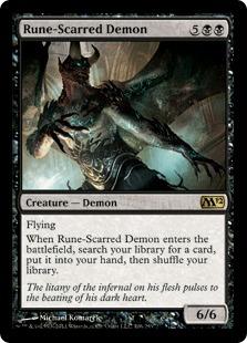 Rune-Scarred Demon