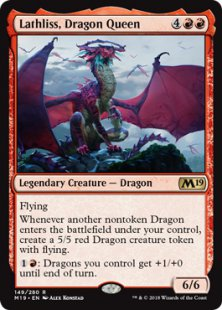 Lathliss, Dragon Queen
