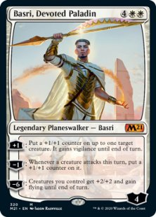 Basri, Devoted Paladin (foil)